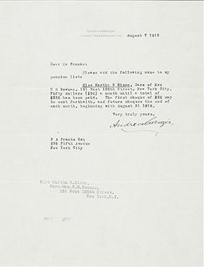 Andrew Carnegie – Carnegie Medal of Philanthropy