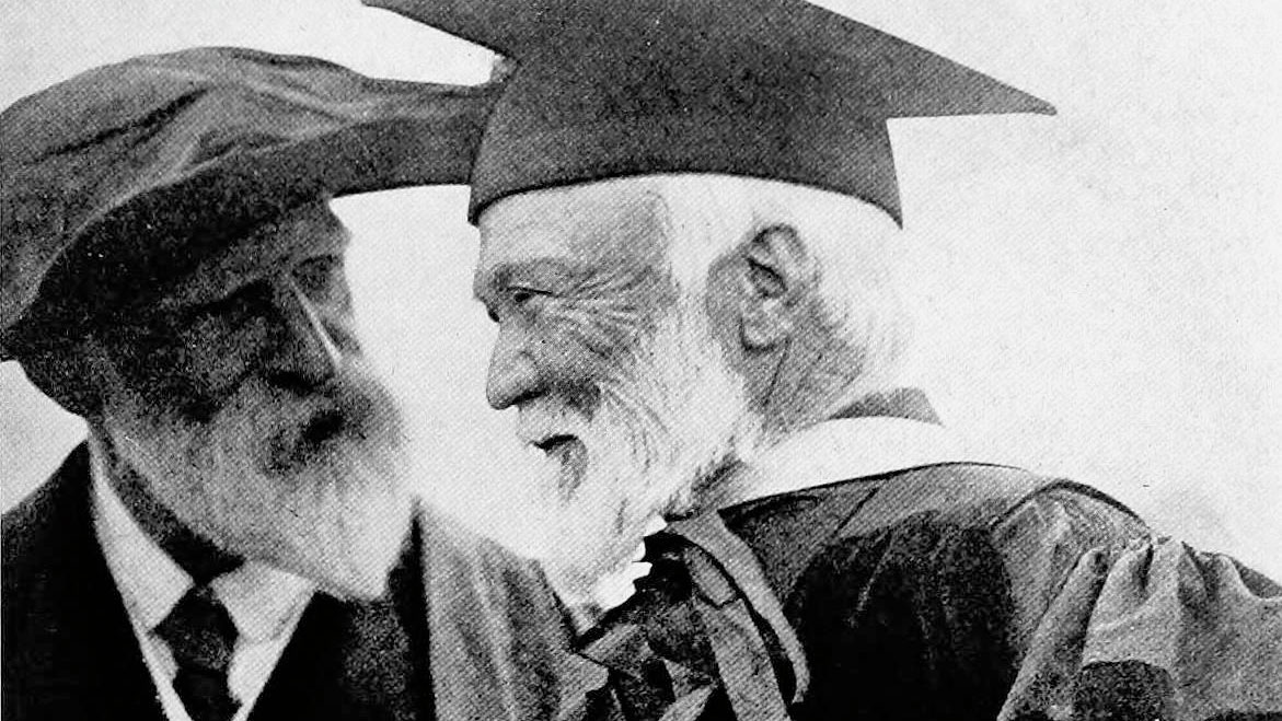 Andrew Carnegie with James Bryce